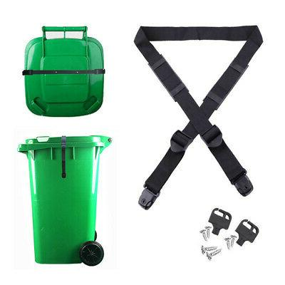 Nylon Garbage Can Trash Can Lid Strap Security Tight Cover G