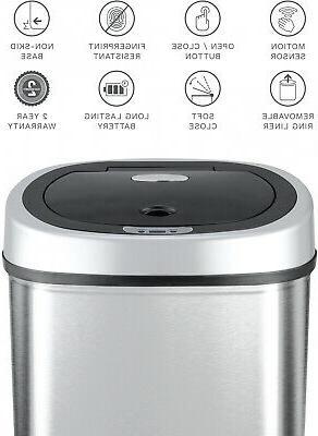 Garbage Trash Motion Sensor Hands-Free