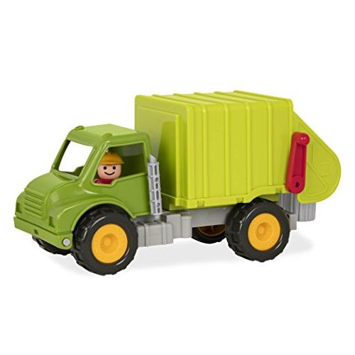 Battat Truck with Garbage Bins and Toy 18m+