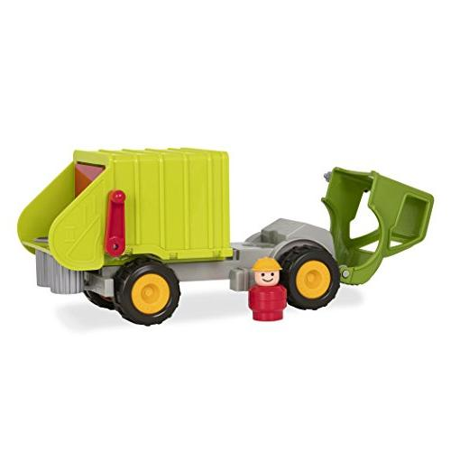 Battat Truck with and Toy Toddlers 18m+ , Lime Green