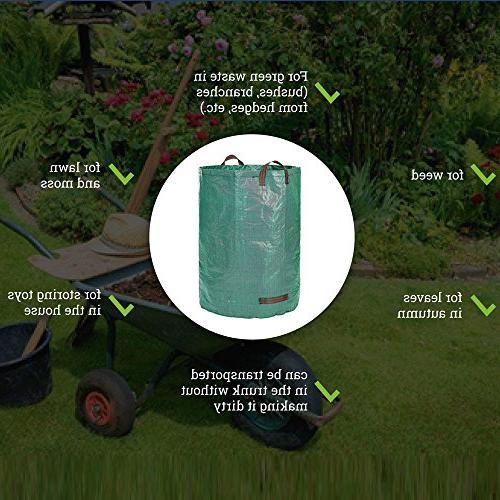 Fenleo Garden 32 Gallons - Duty Pool Leaf Waste Bag