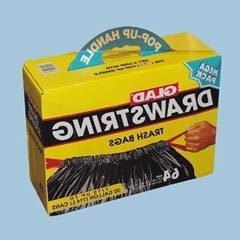 SEPTLS15870313 - Clorox Glad Drawstring Trash Bags - 70313