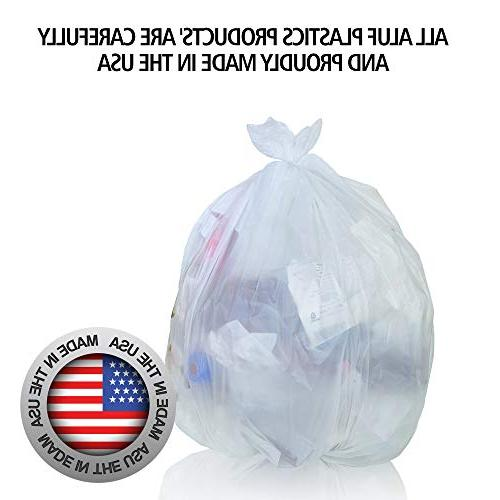 Aluf 24' 24' - Bags Industrial, Commercial, Janitorial, Recycling use More.