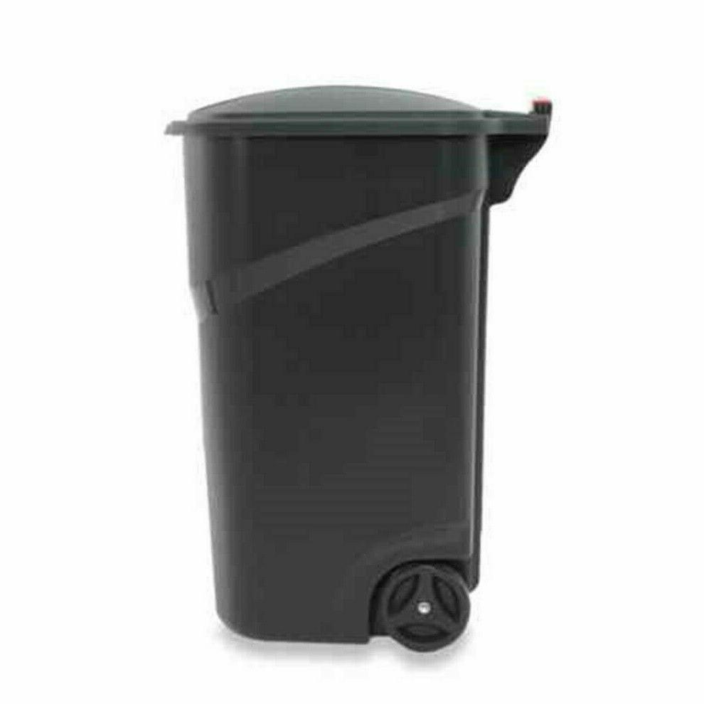 Rubbermaid Gallon Can Outdoor Garbage Handle