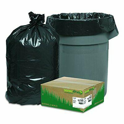 33 Large Trash Can Bags Black