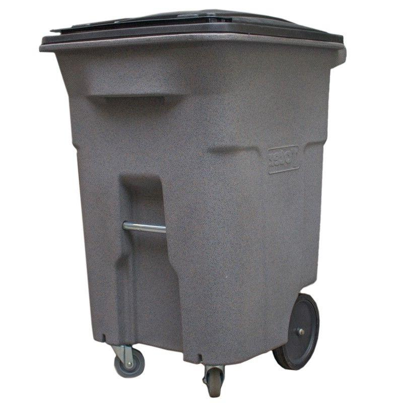 heavy duty two wheeled container