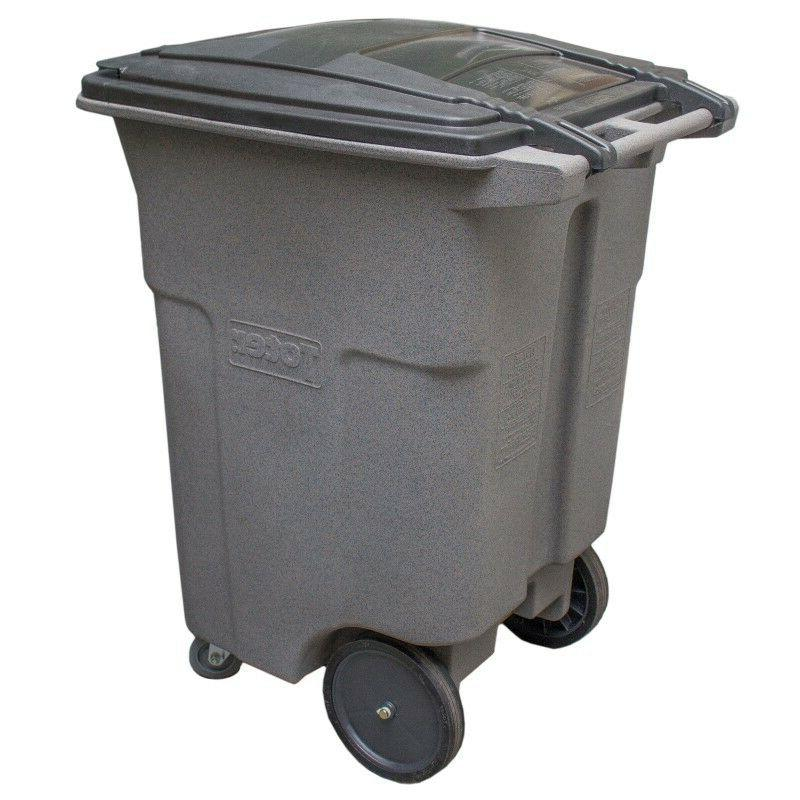 Heavy Duty Wheeled Container with Casters, 96