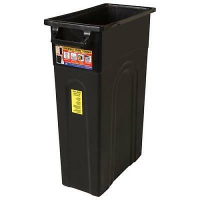 highboy waste container black
