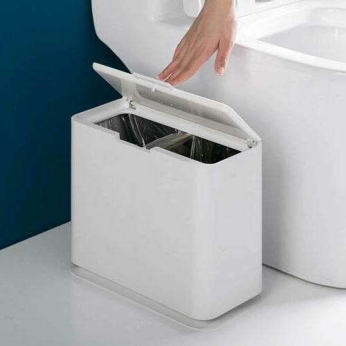 Wastebasket W Touch Trash Bin Slim