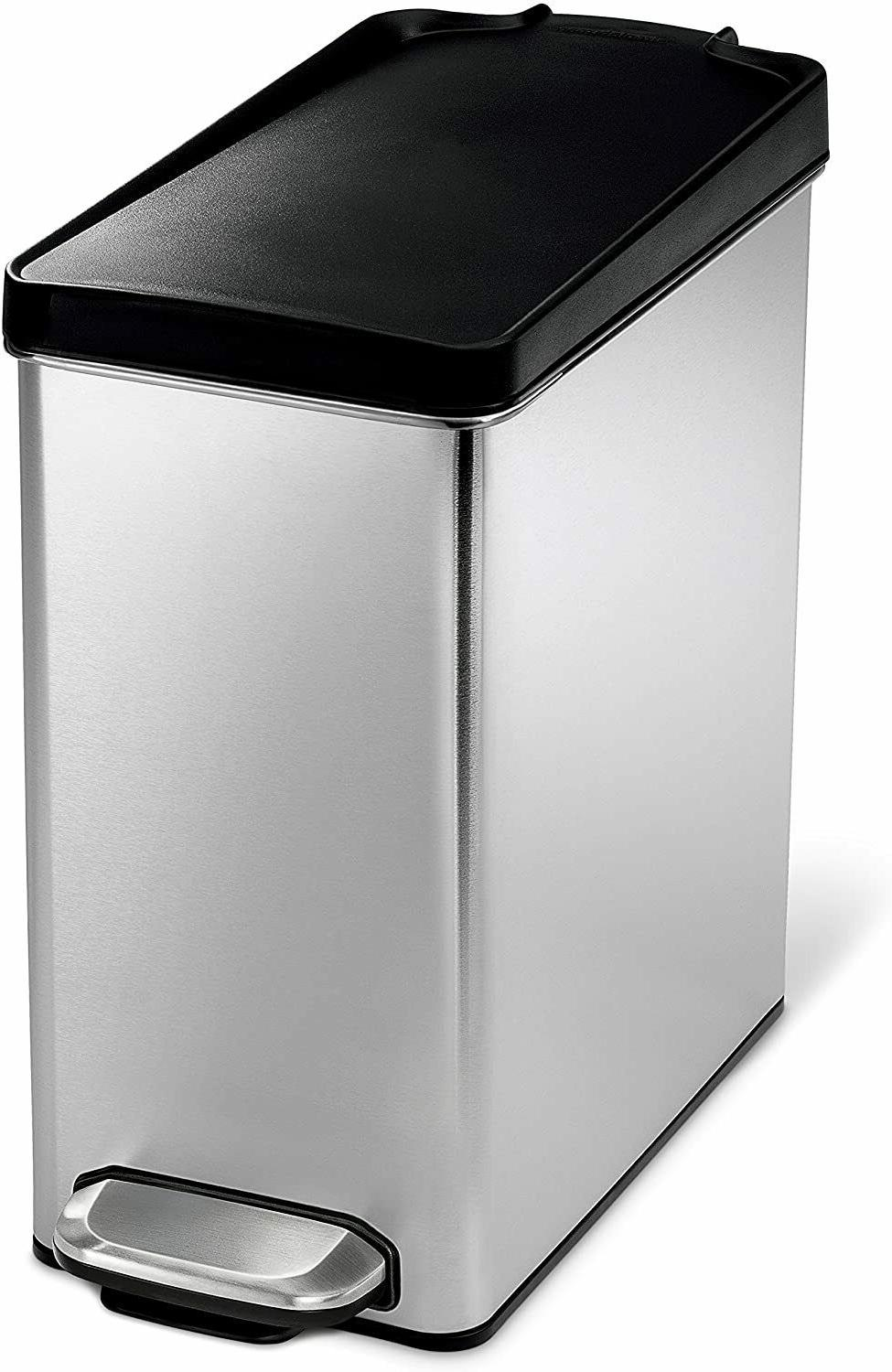 Home Trash Can Kitchen Garbage Plastic
