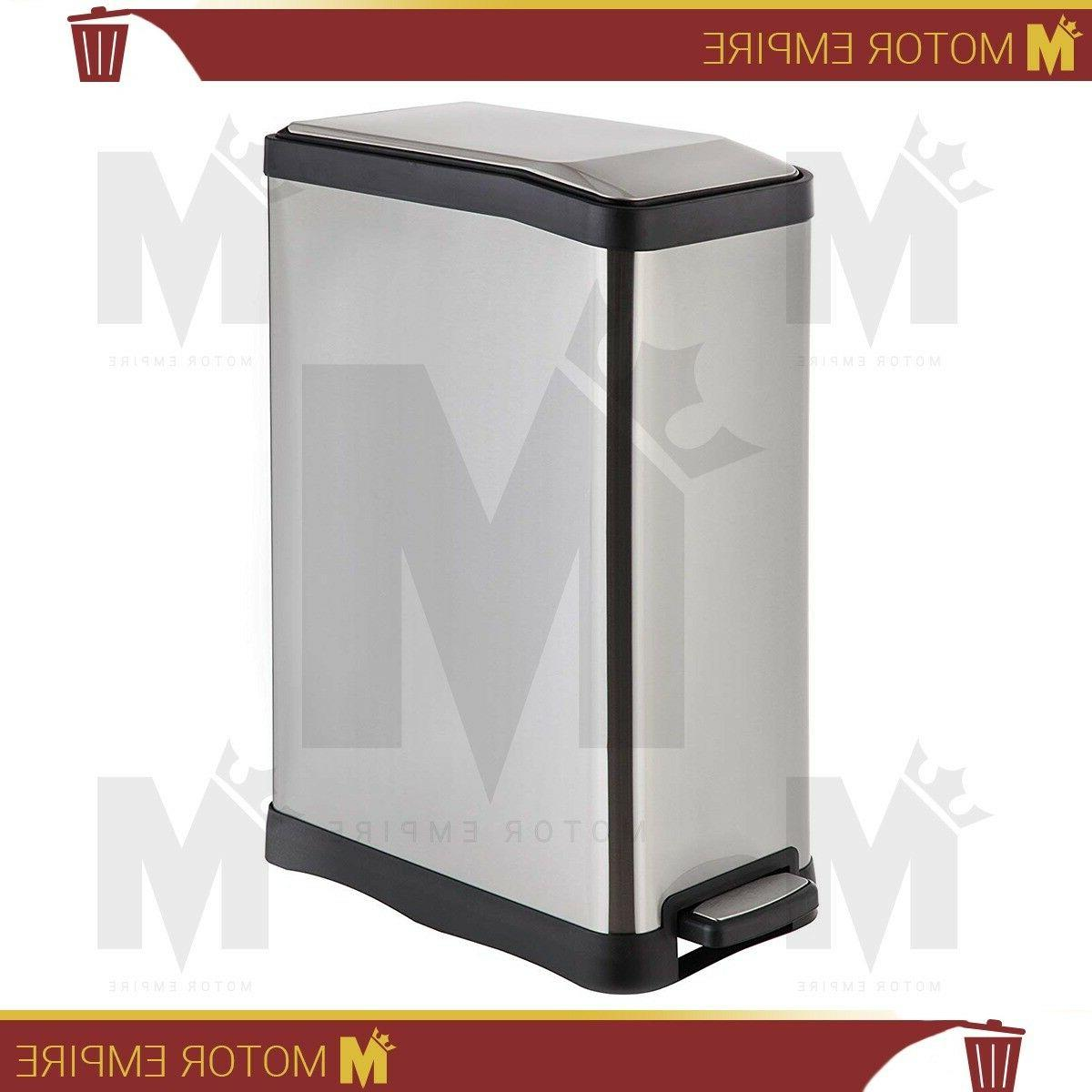 homezone dual compartment recycle trash