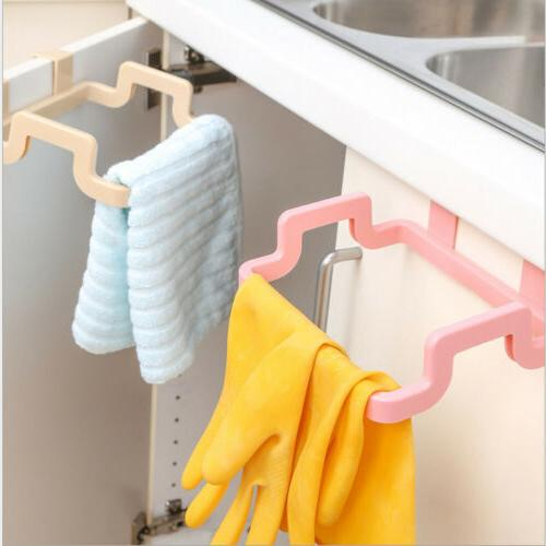 Mini Door Trash Bag Holder Kitchen Hanging Tool