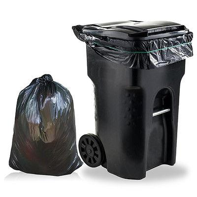 New 80 Gallon Commercial Trash Can Bags Garbage Yard