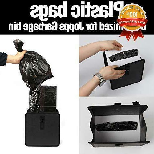Kmmotors Jopps Wastebasket Black Garbage Can