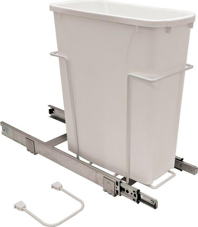 kitchen cabinet trash can roll out garbage