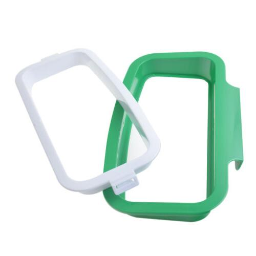 Kitchen Rack Plastic Trash Portable