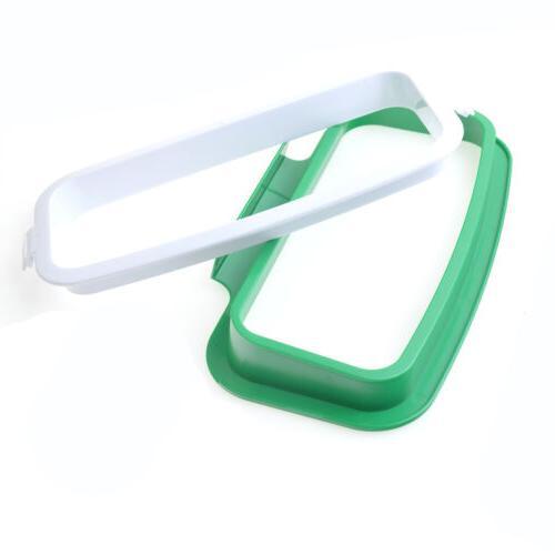 Kitchen Rack Plastic Hanging Trash Bag Box Door