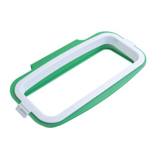 Kitchen Tool Plastic Holder Trash Bag Door