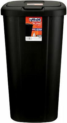 Kitchen Trash 13 Gallon Garbage Basket Black