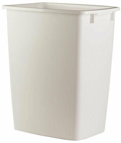 Kitchen Wastebasket- White