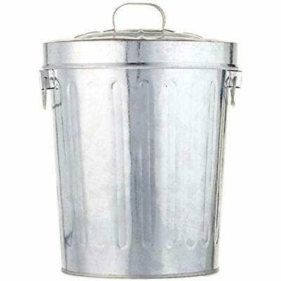 Kraft Tin Bin With Lid