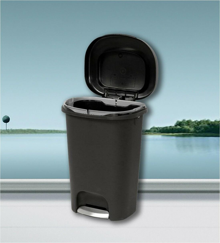 large kitchen trash can 13 gallon garbage