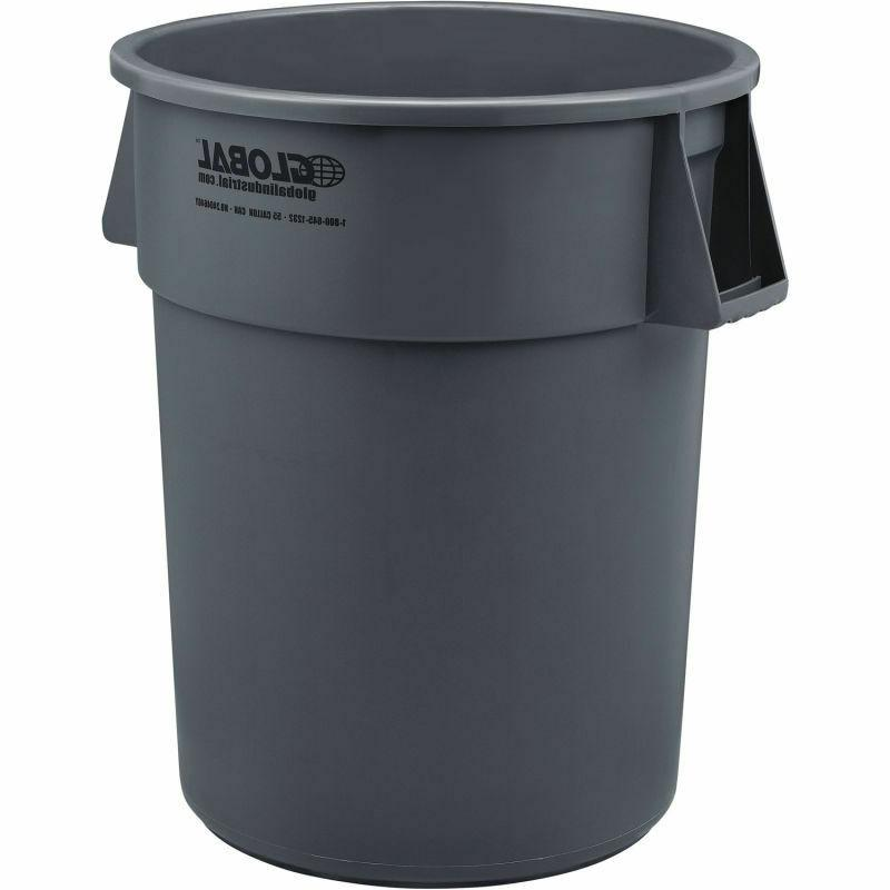 Large Trash 55 Gallon Outdoor Receptacle