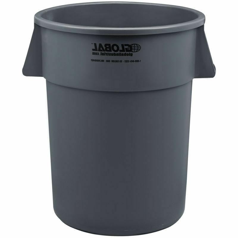 Large Trash Receptacle Can NEW
