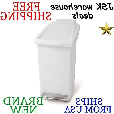liter slim trash can