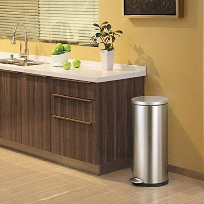 EKO Step Bin Deluxe Kitchen Waste Can Steel!
