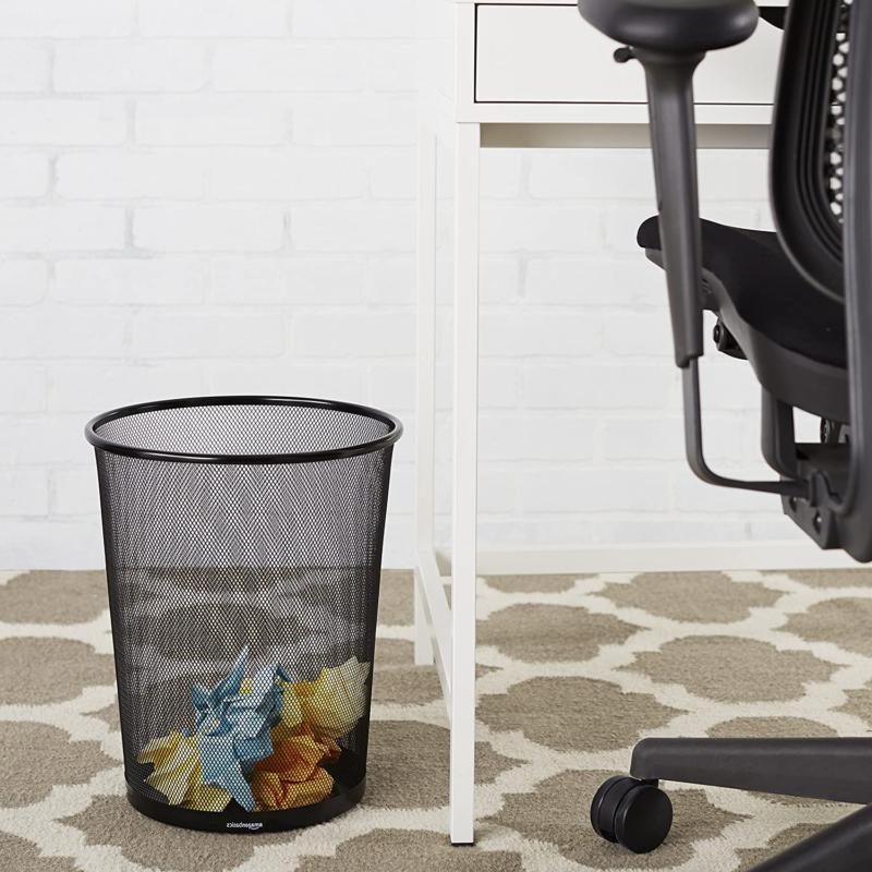 AmazonBasics Mesh Can Waste Basket