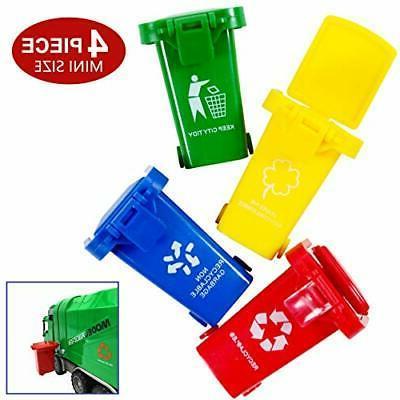 mini curbside vehicle garbage bin trash can