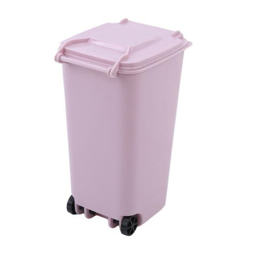 Mini Lift-up cover Trash Can Basket D