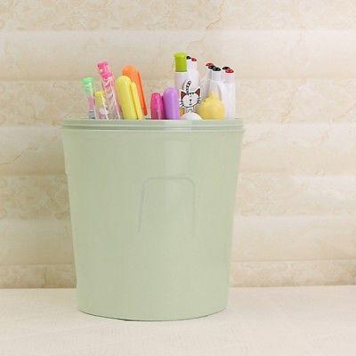Mini Waste Desktop Garbage Basket Table Home Waste Trash Can