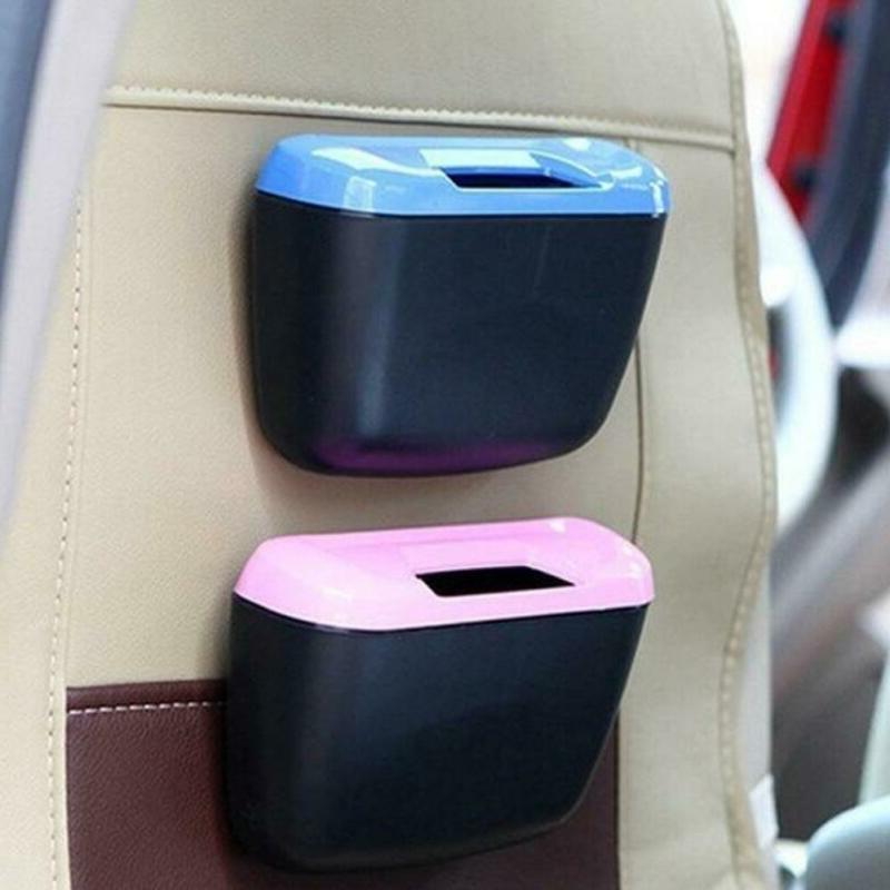 Mini Auto Garbage Can Dust Holder Box Rubbish