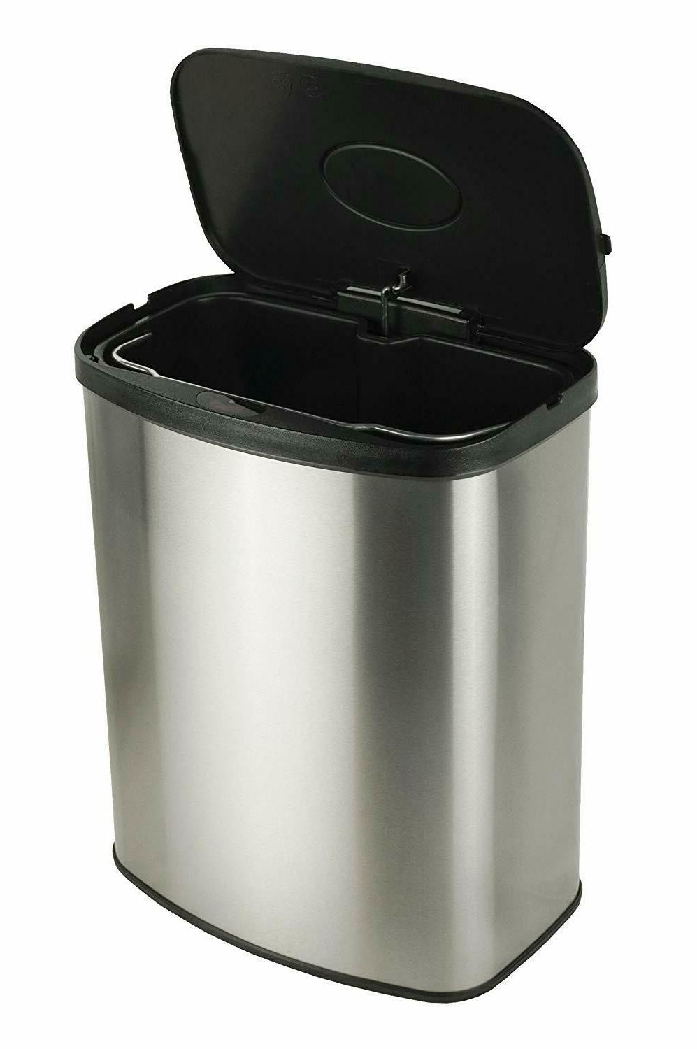 Automatic Garbage Can Sensor Stainless Touchless
