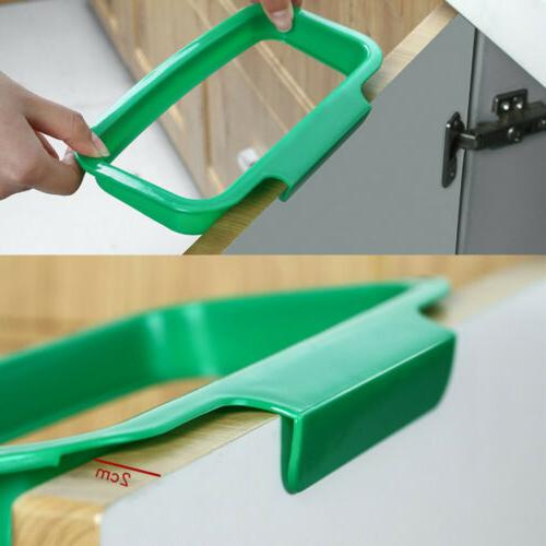Multi-function Door Trash Storage Bracket Kitchen
