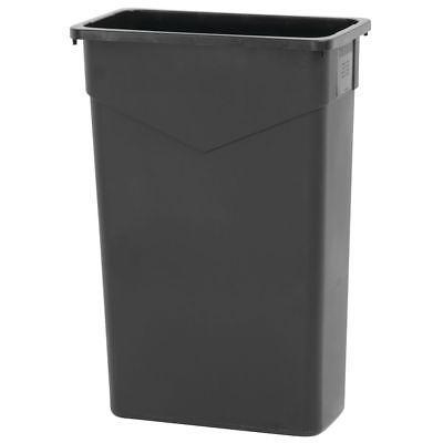 HUBERT Trash Receptacle Can 23 Gallon Black - 20 x