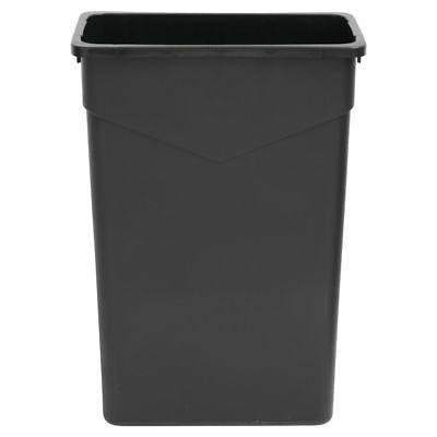 narrow slim trash receptacle garbage can 23