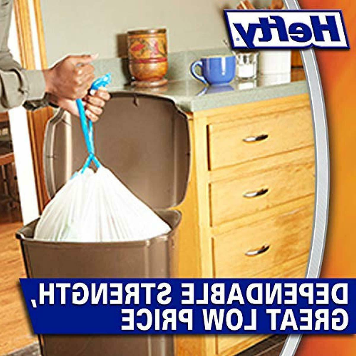 NEW 120 Hefty Kitchen Bags Gallon - Can