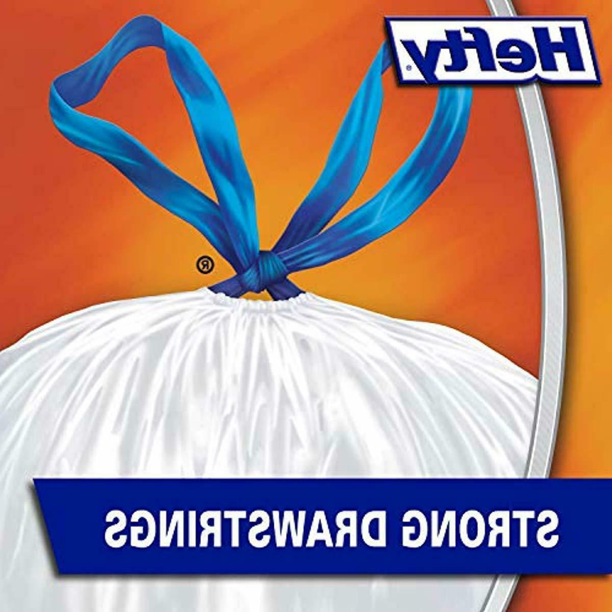 NEW 120 Count Hefty Strong Kitchen Trash Bags - Gallon - Garbage Can Liners