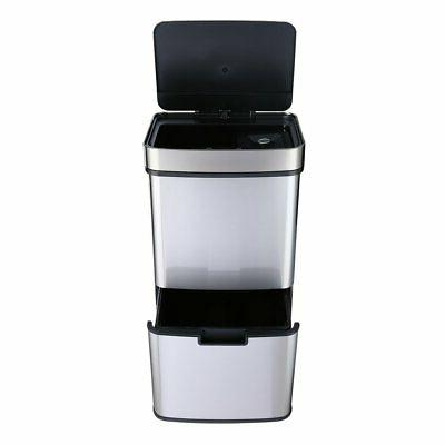 17 Automatic Garbage Stainless NEW