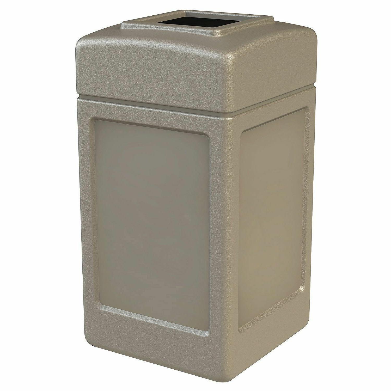 New Gallon Zone Trash Beige Lid