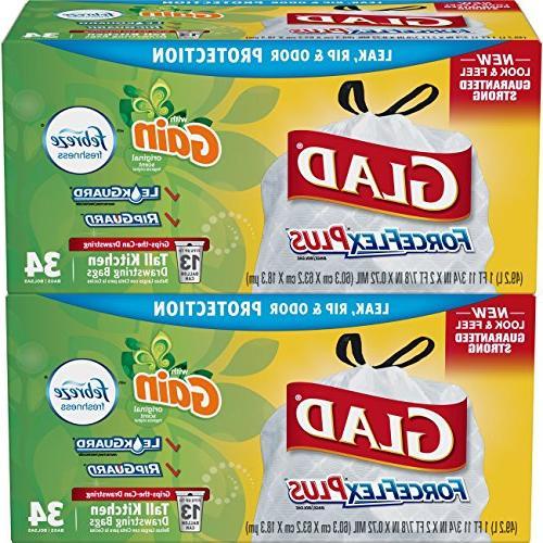 Glad - Febreze Freshness Gallon 34 - Pack