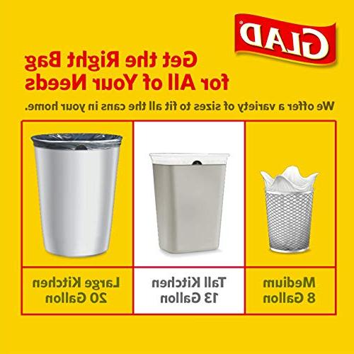 Glad Series Tall Bags - Febreze Clean - -