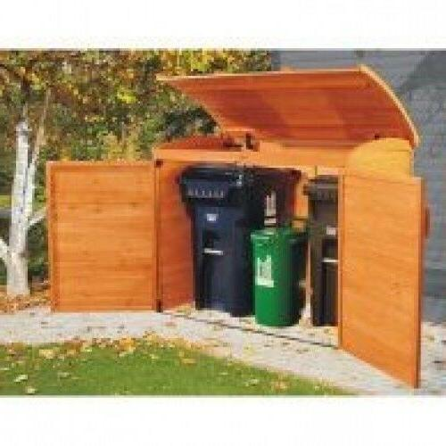 Outdoor Garbage Can Shed Outdoor