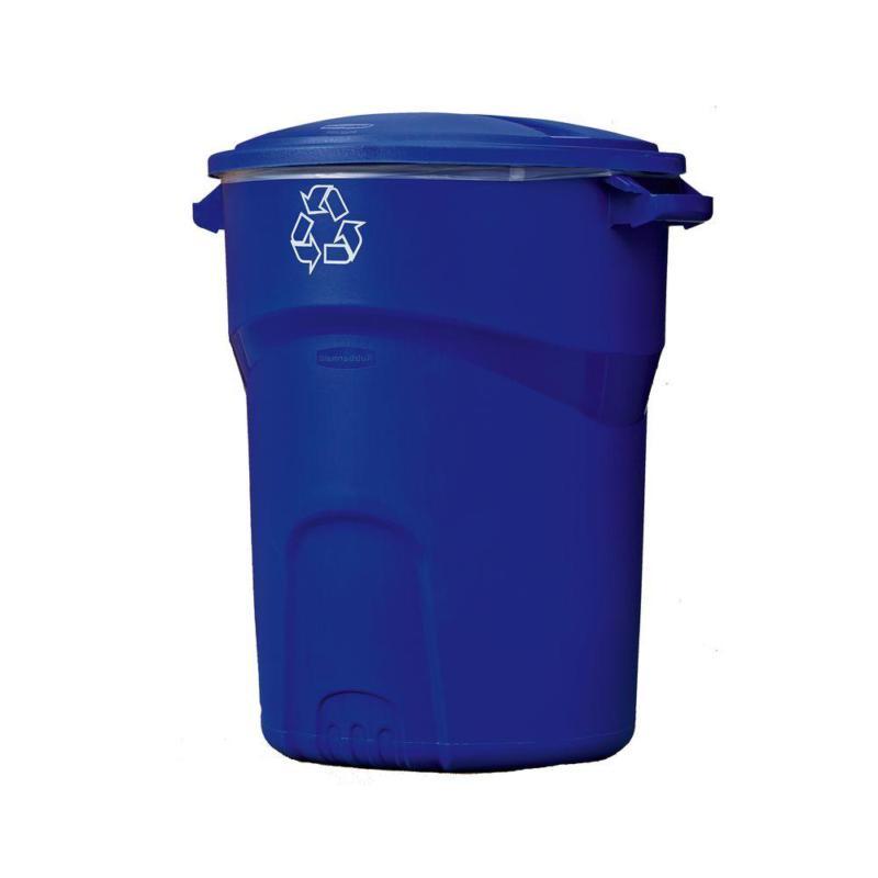 Roughneck 32 Gal. Outdoor Recycling Bin
