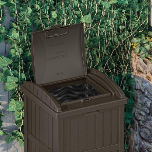 Outdoor Hideaway Patio Garden Garbage Bin Can Recycle