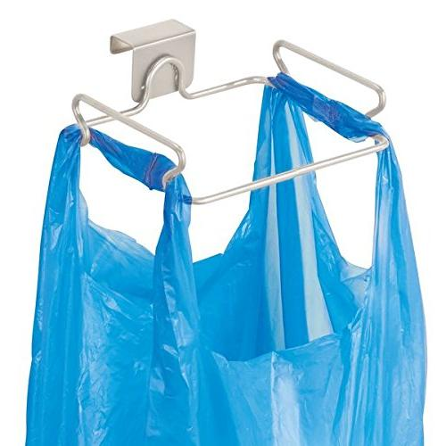 over cabinet plastic bag holder