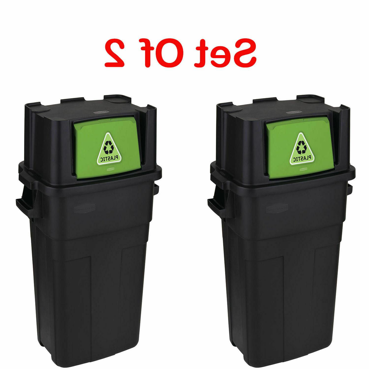 Personal Trash Can Garbage Waste 30 2